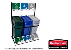 Punto Ecológico Slim Jim 87 litros  Rubbermaid   (Array)