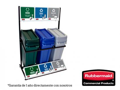 Punto Ecológico Slim Jim 87 litros  Rubbermaid