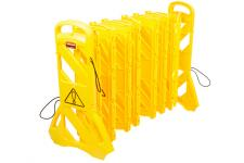 Rubbermaid FG9S1100YEL Barrera Móvil Seguridad Extensible Amarillo